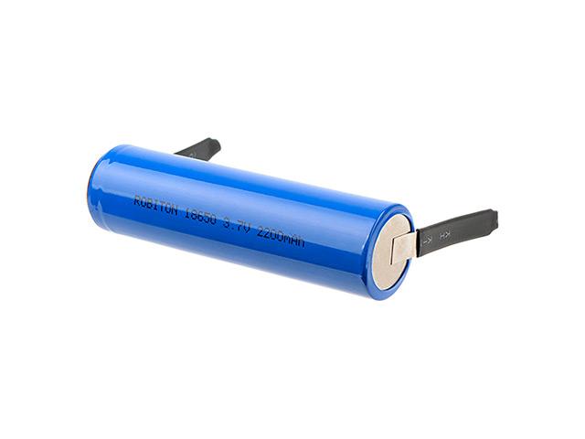 Аккумулятор 18650 - Robiton 2200mAh LI2200FT (1 штука) 16430