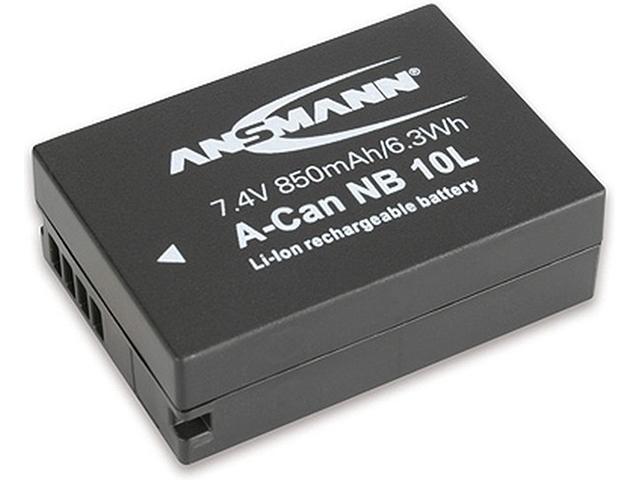 Фото - Аккумулятор Ansmann A-Can NB 10L BL1 1400-0024 / 10107 футляр ansmann akku box 4000033