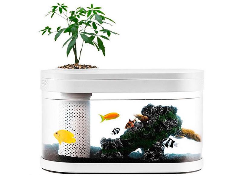 Аквариум Xiaomi Geometry Fish Tank Aquaponics Ecosystem C180