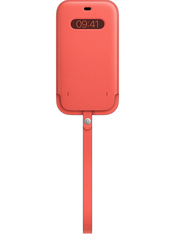 Чехол для APPLE iPhone 12/12 Pro Max Leather Sleeve with MagSafe Pink Citrus MHYF3ZE/A