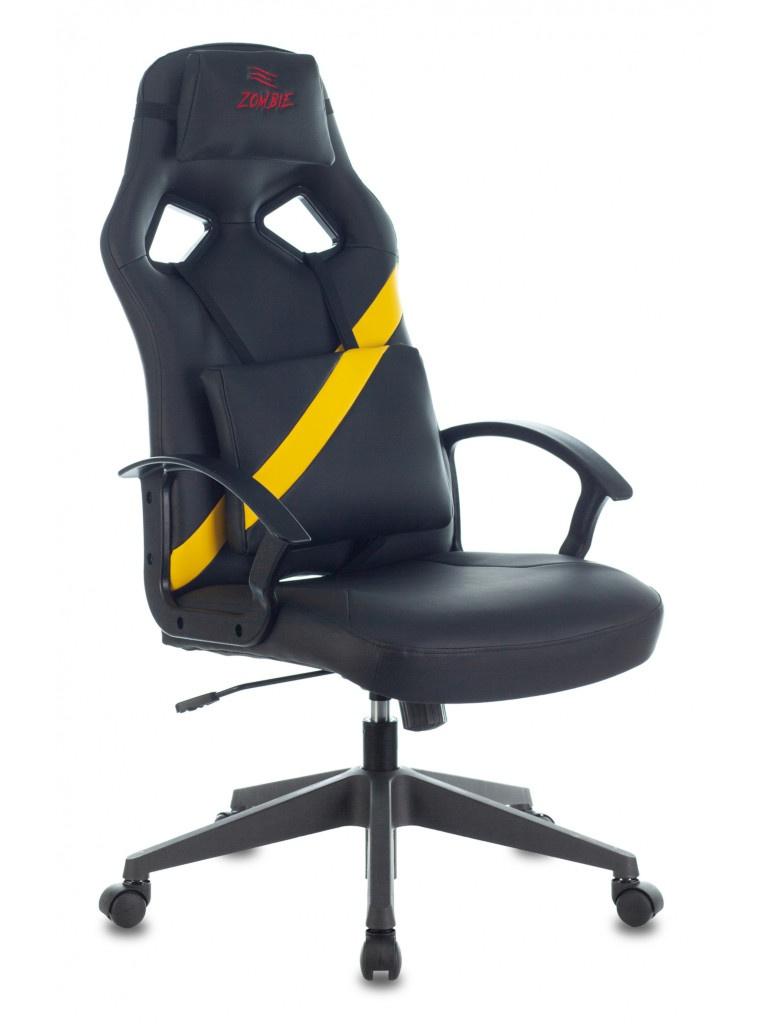 Компьютерное кресло Zombie Driver Yellow 1485773