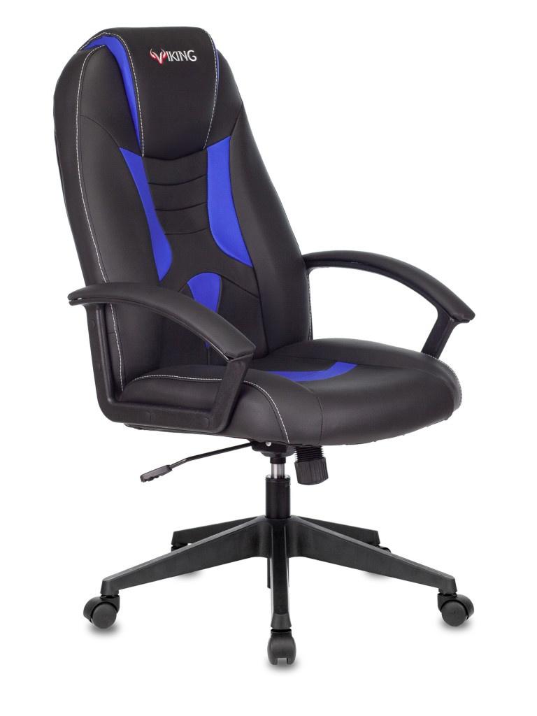Компьютерное кресло Zombie Viking-8 Black-Blue