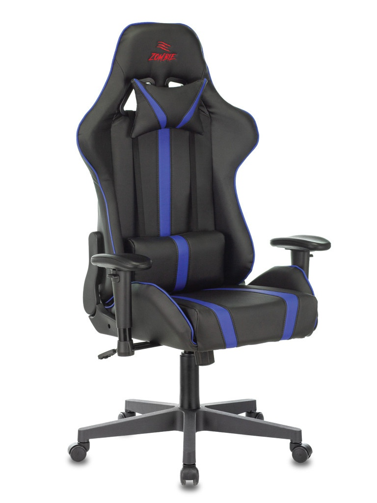 Компьютерное кресло Zombie Viking A4 Black-Blue 1374167
