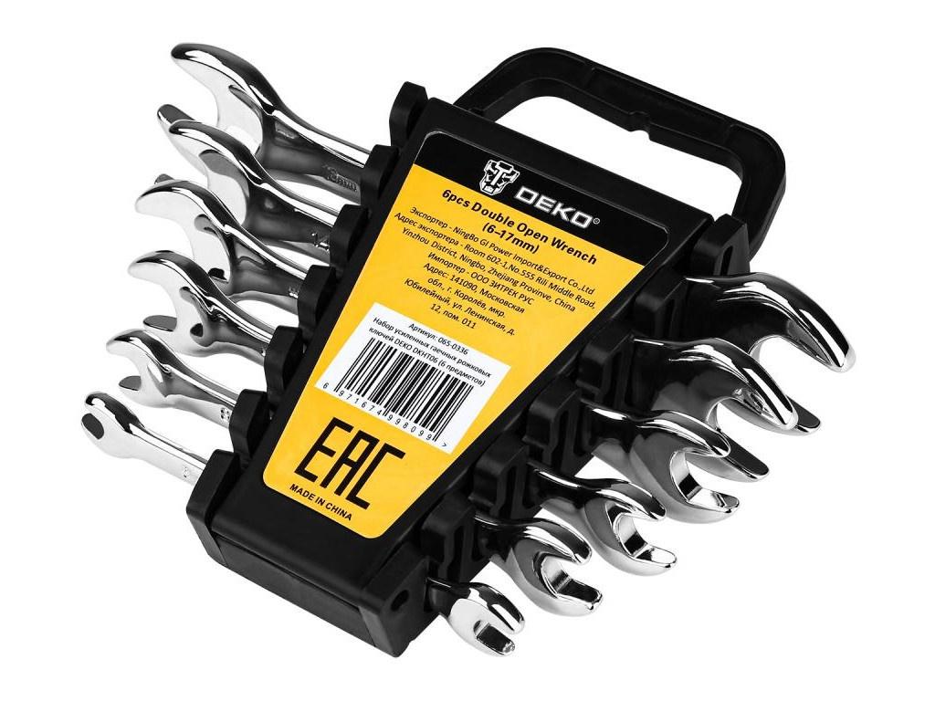 Набор ключей Deko DKHT06 065-0336