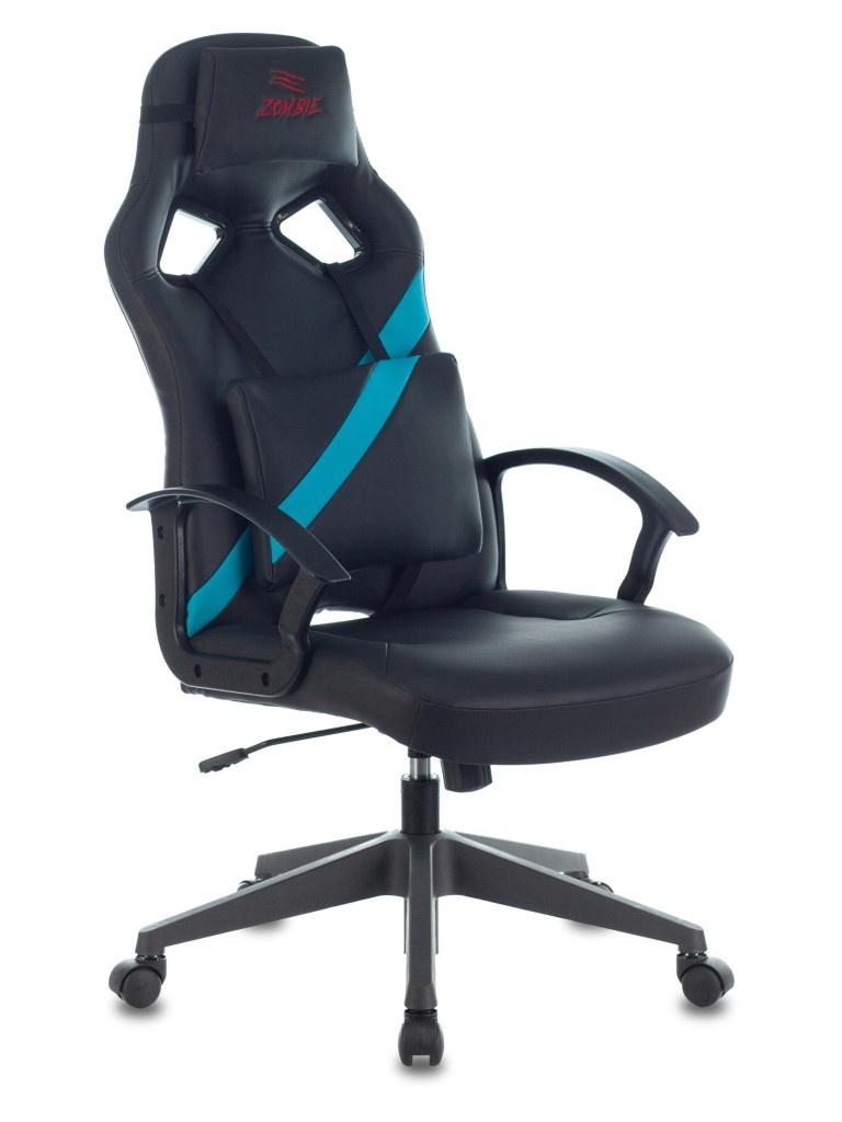 Компьютерное кресло Zombie Driver LB Black-Blue 1485772
