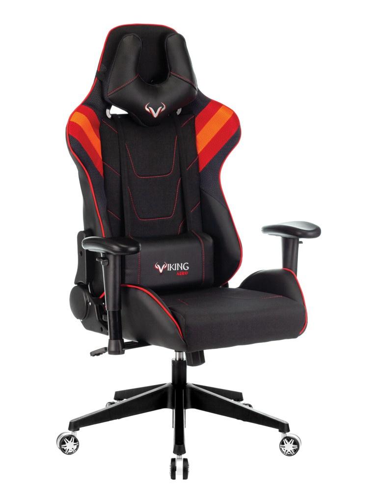 Компьютерное кресло Zombie Viking 4 Aero Blac-Red 1197915