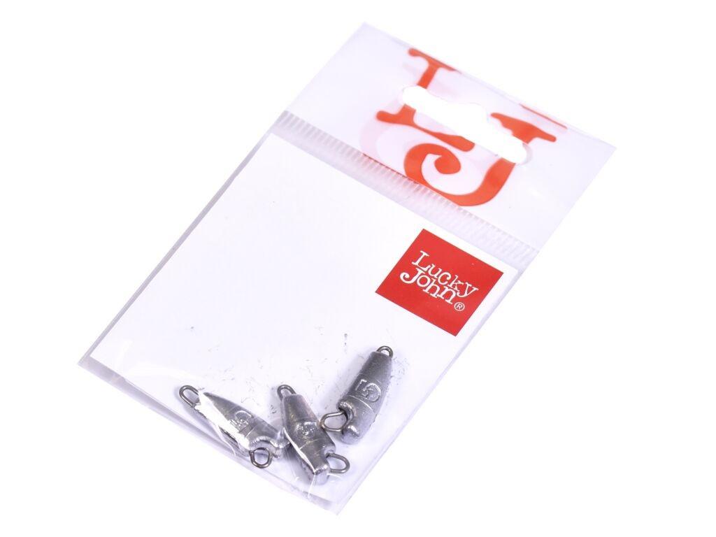 Грузило Lucky John Jig Rover 5g 3шт LJR-005