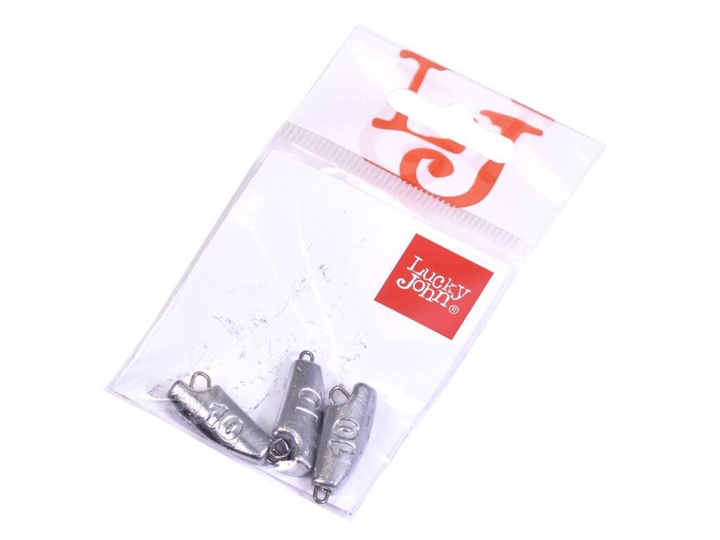 Грузило Lucky John Jig Rover 10g 3шт LJR-010
