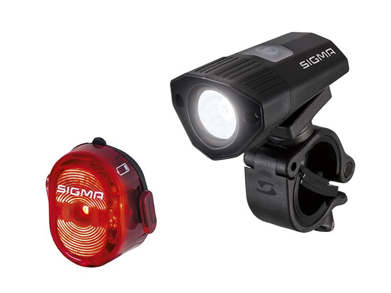 Комплект велофонарей Sigma Sport Buster 100 / Nugget II Flash USB SIG_18775