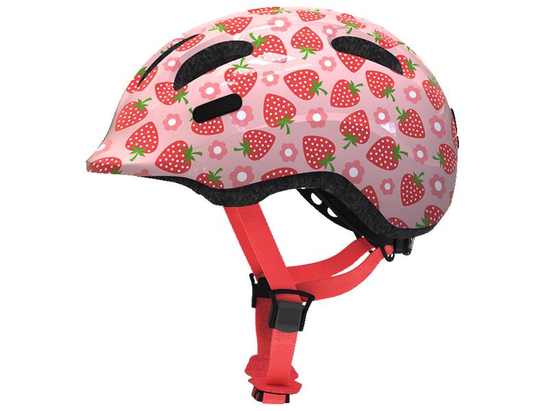 Шлем Abus Smiley 2.1 S (45-50) Rose Strawberry