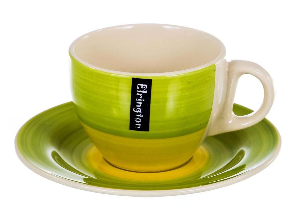 Чайный набор PSF Group Elrington Аэрограф Зеленый луг 139-23070