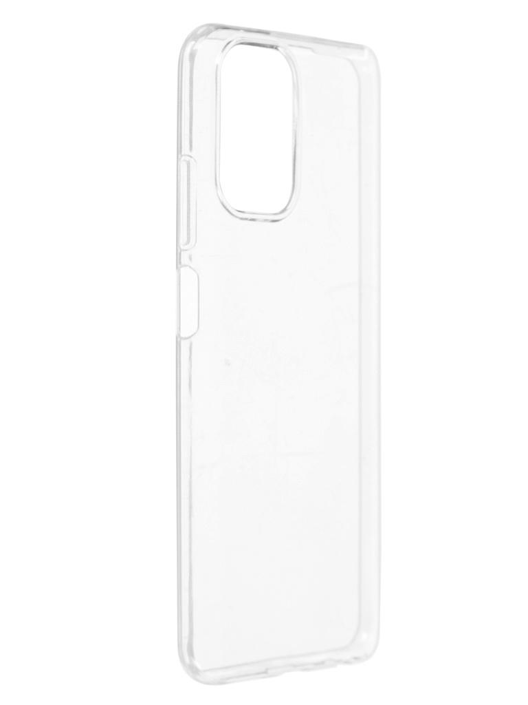 Чехол Brosco для Xiaomi Redmi Note 10 TPU Transparent XM-RN10-TPU-TRANSPARENT