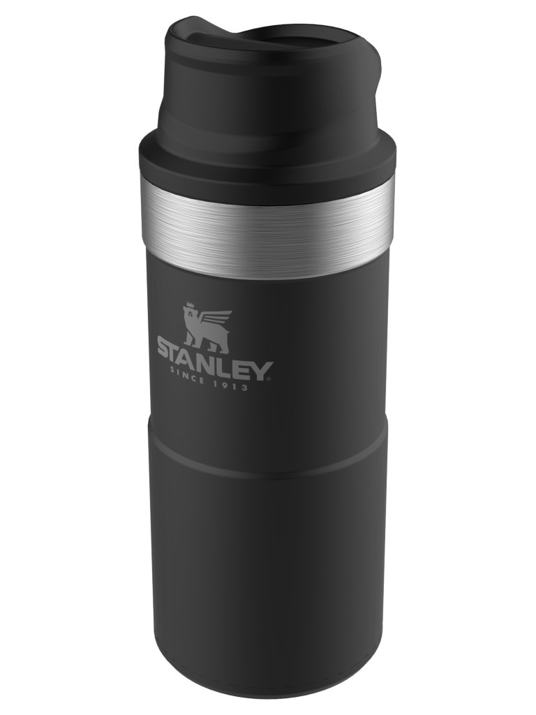 Термокружка Stanley The Trigger-Action Travel Mug 350ml Black 10-09848-007