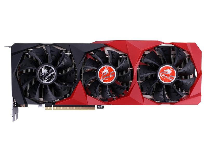Видеокарта Colorful GeForce RTX 3070 NB-V 1500Mhz PCI-E 4.0 8192Mb 14000Mhz 256-bit HDMI 3xDP