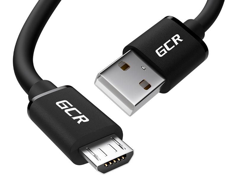 Фото - Аксессуар GCR USB 2.0 AM - Micro 5pin B 0.75m Black GCR-UA8MCB6-BB2S-0.75m аксессуар gcr usb type c usb 2 0 0 3m black gcr uc1am bb2s 0 3m