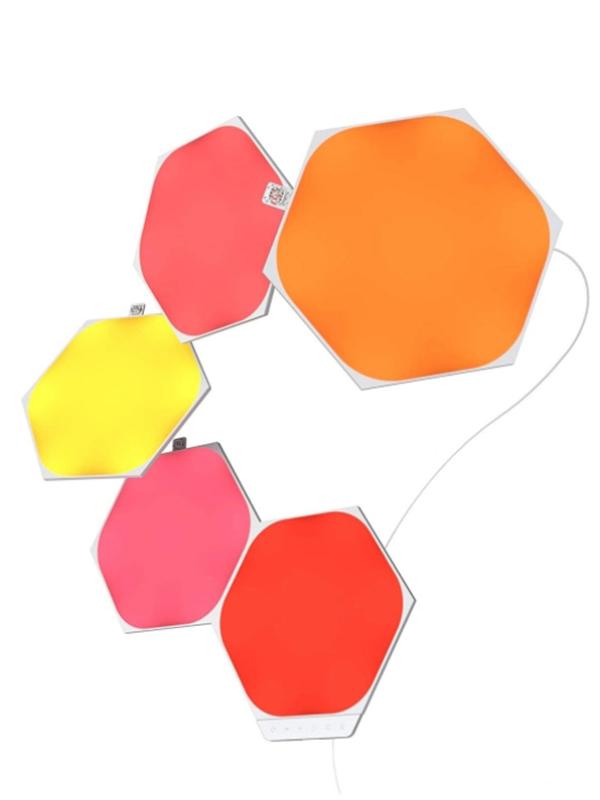 Светильник Nanoleaf Shapes Hexagon Starter Kits NL42-5002HX-5PK