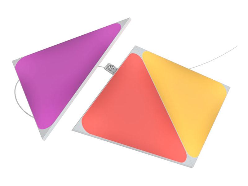 Набор дополнительных светодиодных панелей Nanoleaf Shapes Triangles 3шт без управляющего блока NL47-0001TW-3PK