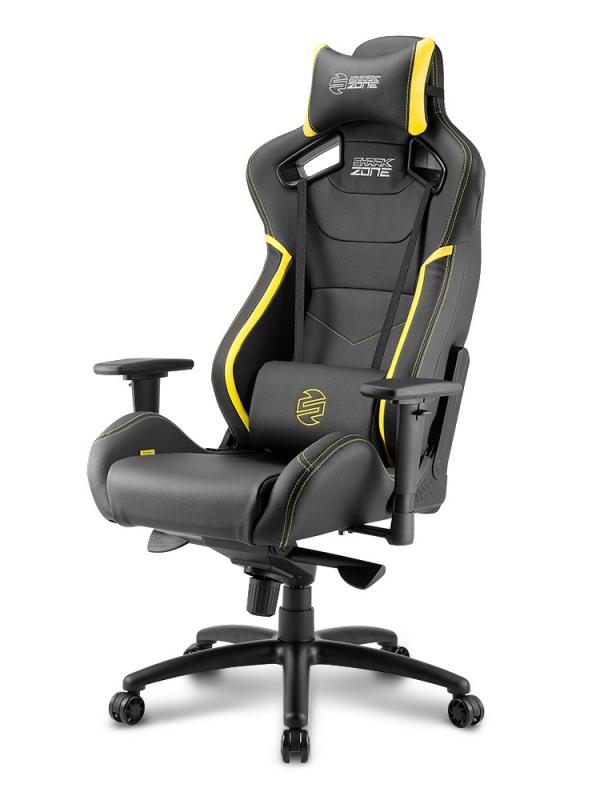 Компьютерное кресло Sharkoon Shark Zone GS10 Black-Yellow