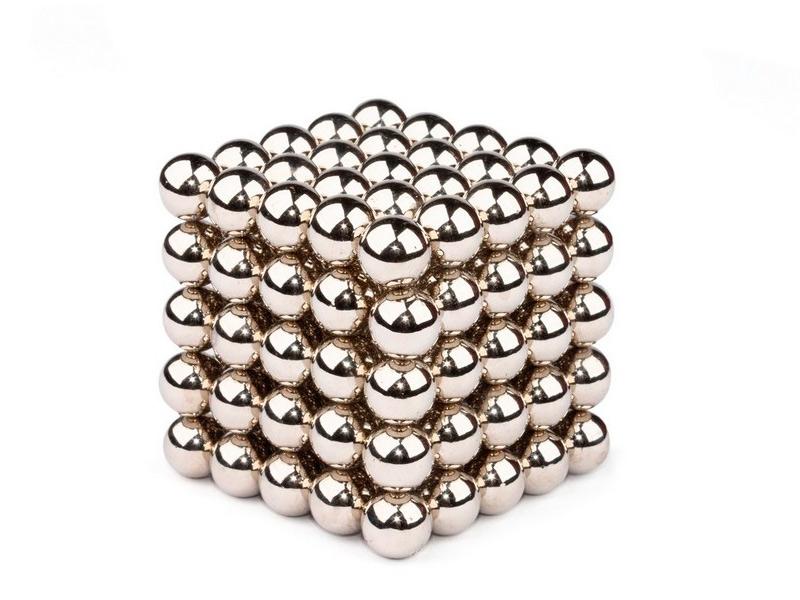 Магниты Forceberg Cube 10мм 125 элементов Steel 9-4818234