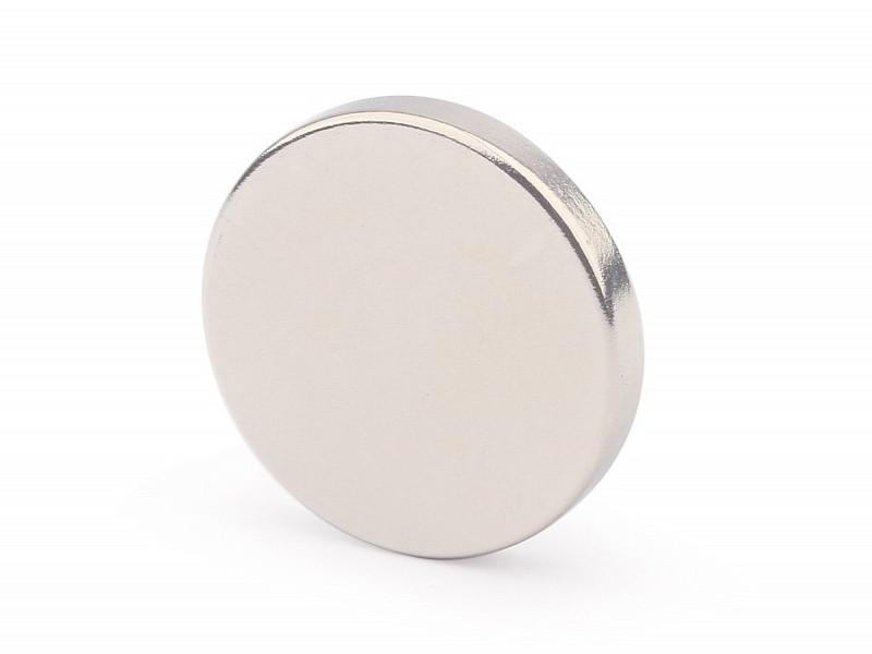 Неодимовый магнит Forceberg 20х3mm 24шт 9-1212360-024