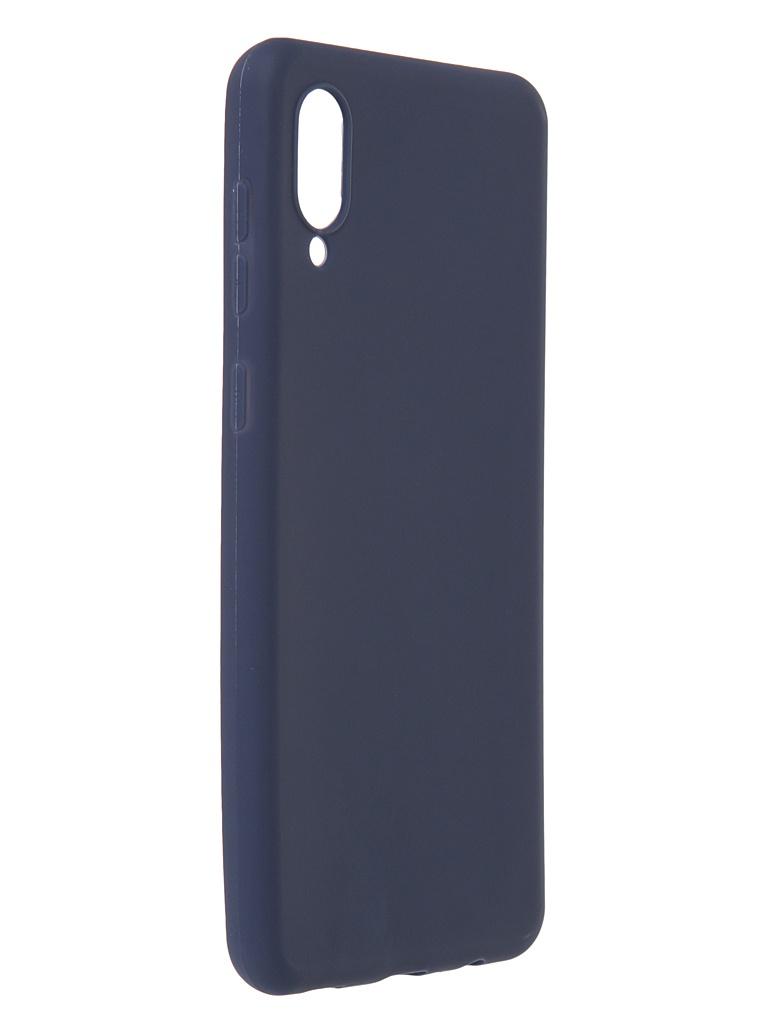 Чехол Zibelino для Samsung Galaxy A02 / A022 Soft Matte Blue ZSM-SAM-A02-BLU
