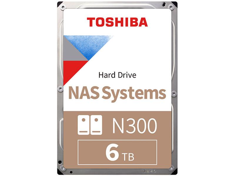 Жесткий диск Toshiba N300 6Tb HDWG160UZSVA