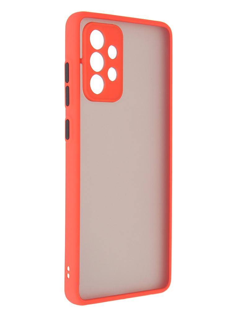 Чехол Innovation для Samsung Galaxy A72 Red 19804