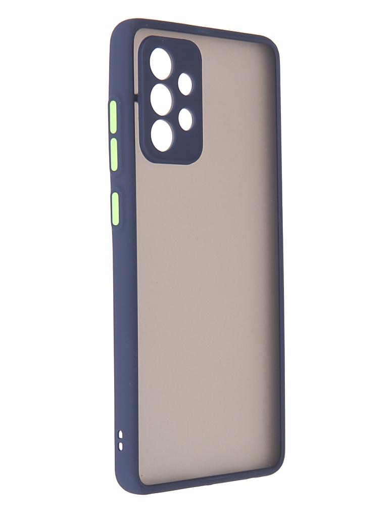 Чехол Innovation для Samsung Galaxy A72 Blue 19805