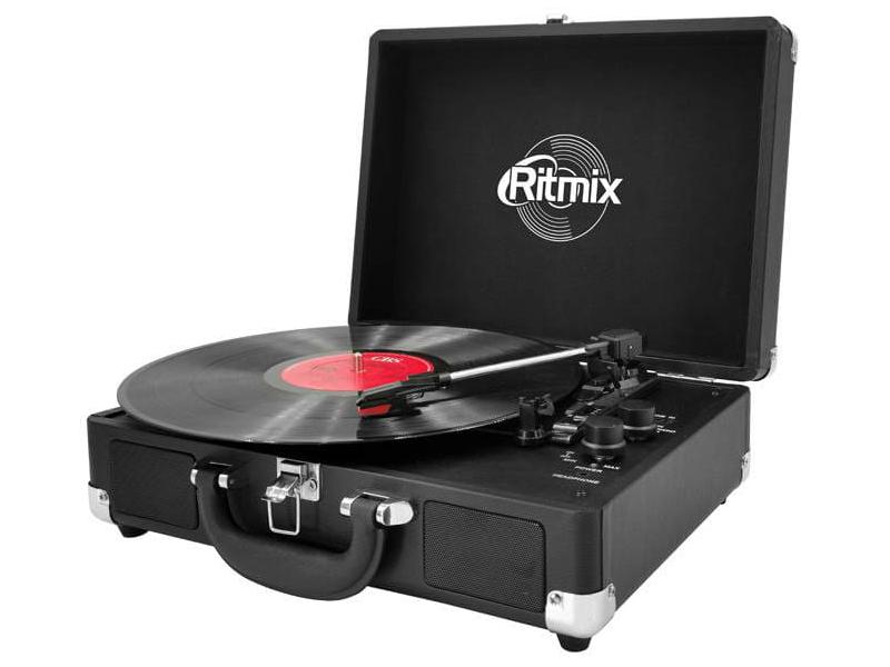 Проигрыватель Ritmix LP-120B Black