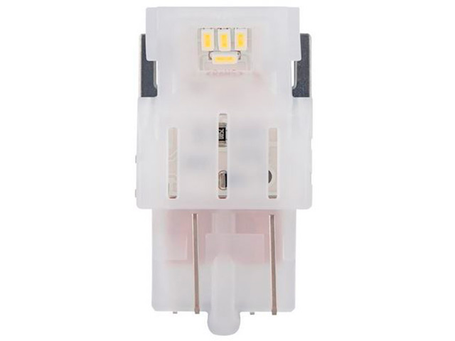 Лампа Osram W21/5W 12V-LED (W3x16q) Amber 2шт 7515DYP-02B лампа osram w21 5w 12v led w3x16q red 2шт 7515drp 02b