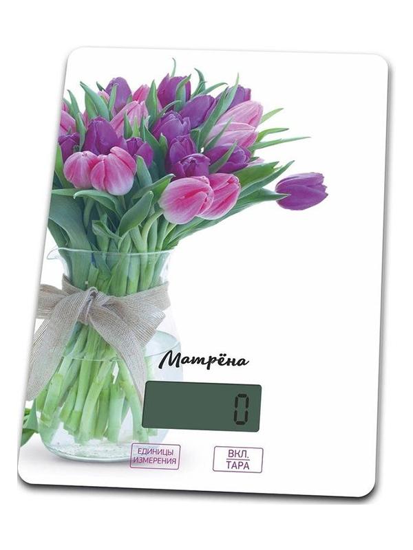 Весы Матрёна МА-037 Тюльпаны