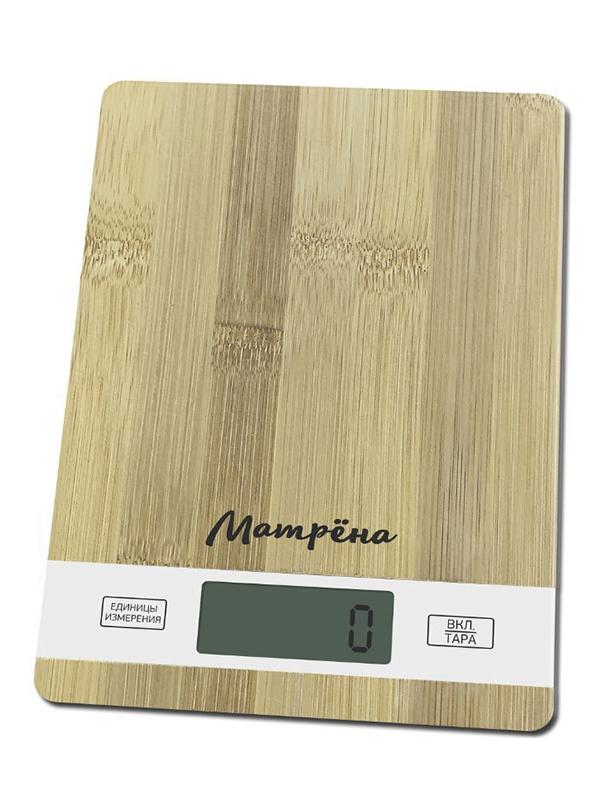 Весы Матрёна МА-039 Бамбук