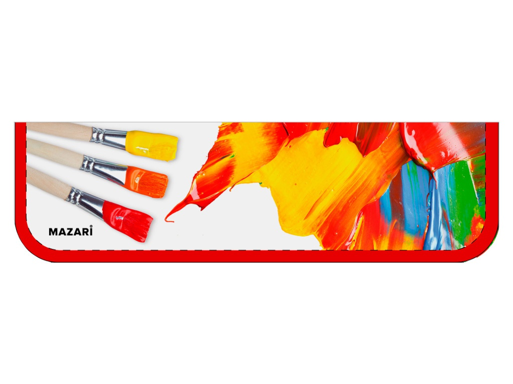Пенал Mazari Artwork 270x90mm M-16123