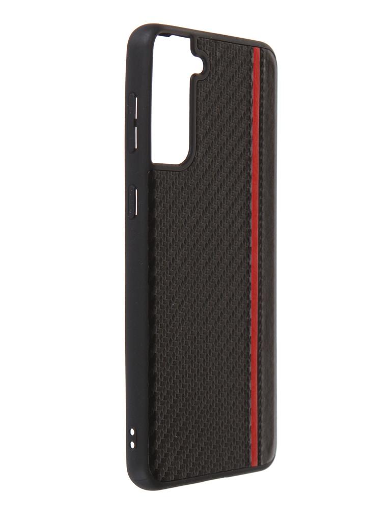 Чехол G-Case для Samsung Galaxy S21 Plus SM-G996B Carbon Black GG-1318