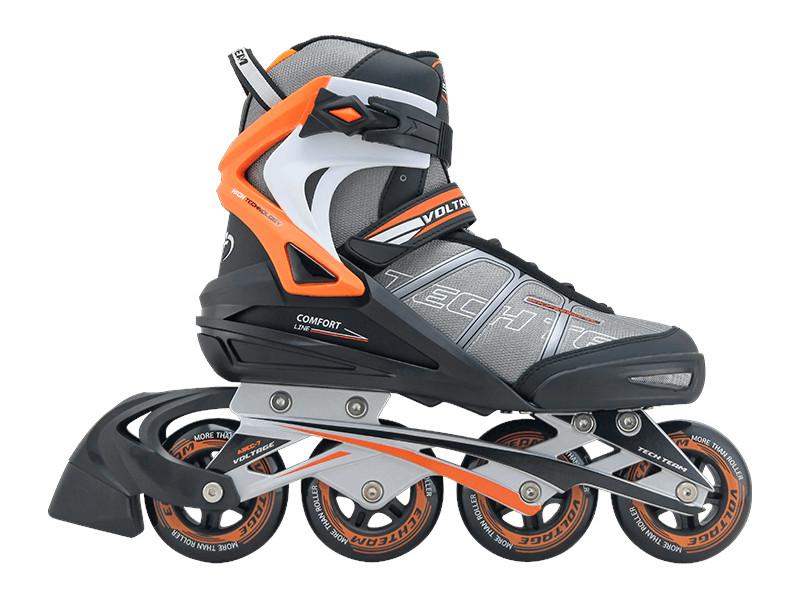 Коньки Tech Team Voltage р.42 Black-Orange