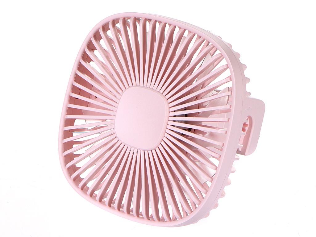 Вентилятор Baseus Natural Wind Magnetic Rear Seat Fan Pink CXZR-04