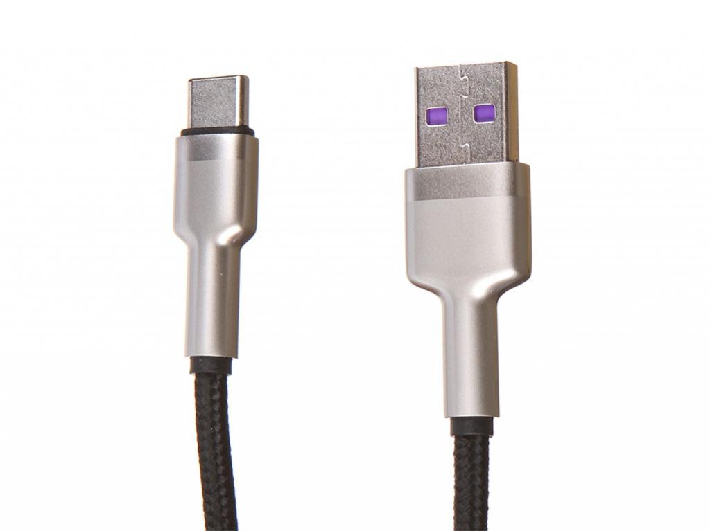 Фото - Аксессуар Baseus Cafule Series USB - Type-C 40W 2m Black CATJK-B01 аксессуар baseus cafule series data cable usb c watch charging dock for huawei mobile phone