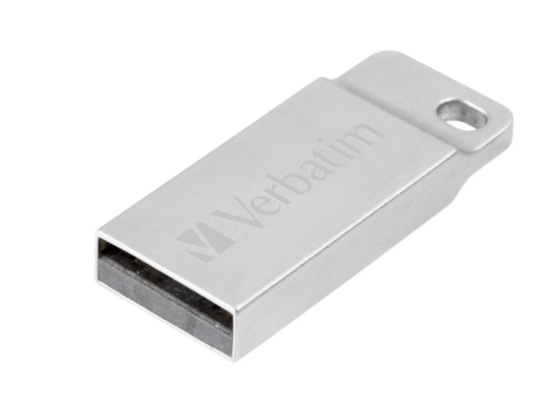 USB Flash Drive 64Gb - Verbatim Executive Metal Silver 98750