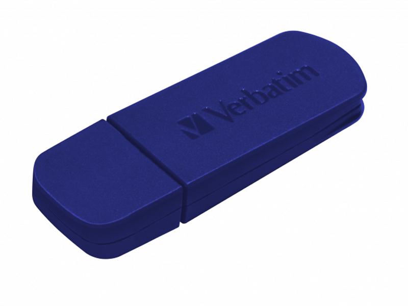 Фото - USB Flash Drive 32Gb - Verbatim Mini Blue 49426 usb flash drive 32gb molti pebble universal usb 3 0 grey blue 15810 42