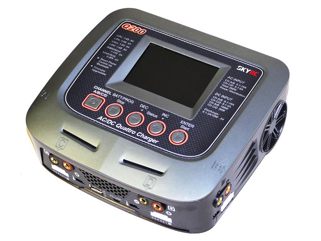 SkyRC Q200 AC/DC Bluetooth SK-100158-01