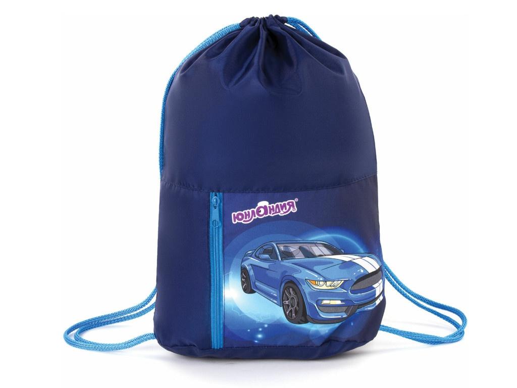 Мешок для обуви Юнландия Blue Car 270407