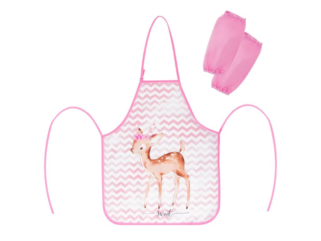 Фартук с нарукавниками Юнландия Baby Deer 270383