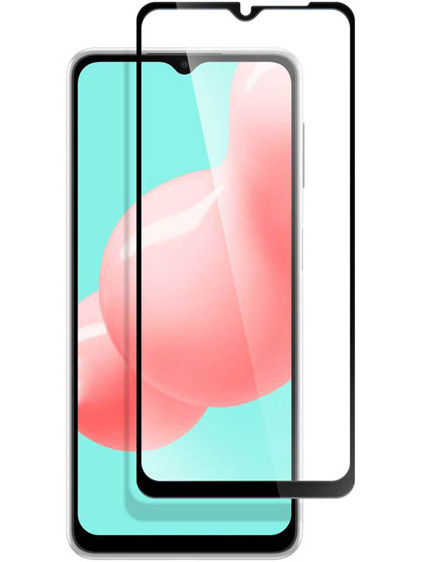 Защитное стекло Pero для Samsung Galaxy A32 Full Glue Privacy Black PGFGP-SA32