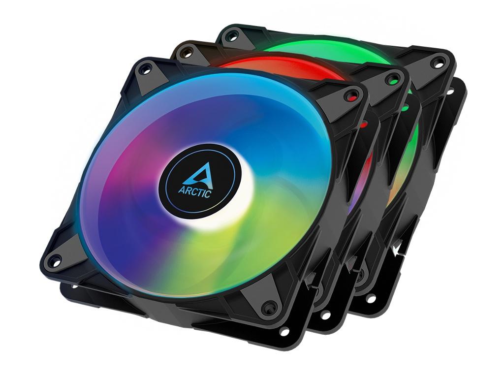 Вентилятор Arctic P12 PWM PST A-RGB 0dB (3 PCS Value Pack) ACFAN00232A