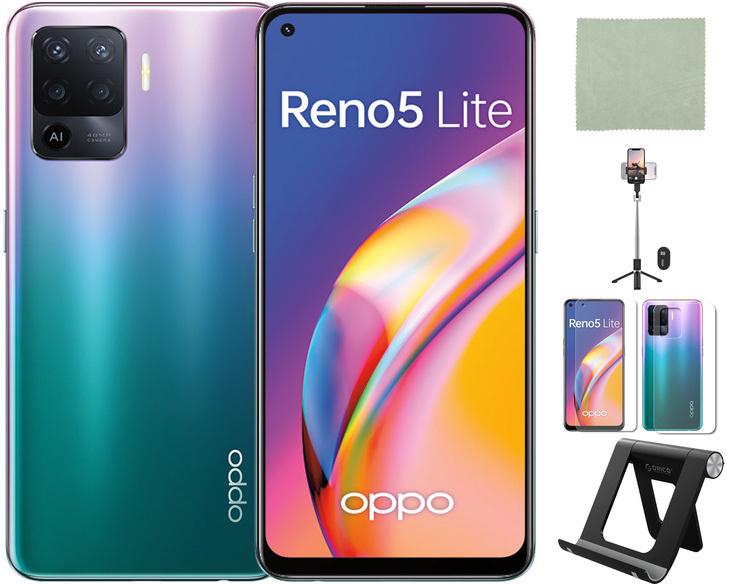 Сотовый телефон Oppo Reno 5 Lite 8/128Gb Fantastic Purple Выгодный набор + серт. 200Р!!!