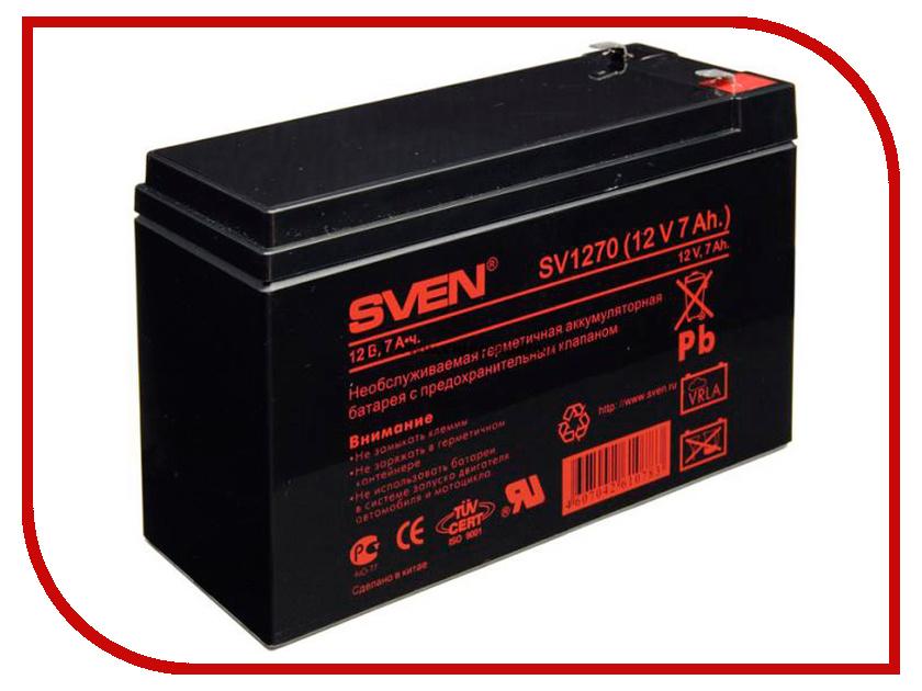 Аккумулятор для ИБП Sven SV 12V 7Ah SV1270 stika sv 12
