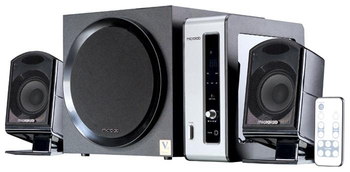 Колонки 2.1 Microlab FC 550 Black