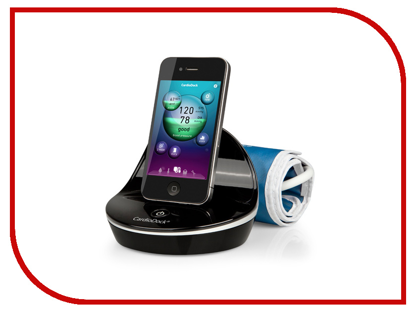 Тонометр Medisana CardioDock 2 для iPhone/iPad индивидуальный 51285<br>