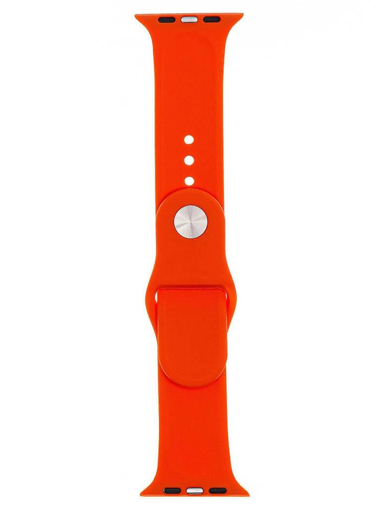Аксессуар Ремешок Evolution для Apple Watch 42/44mm Sport Silicone Apricot AW44-S01