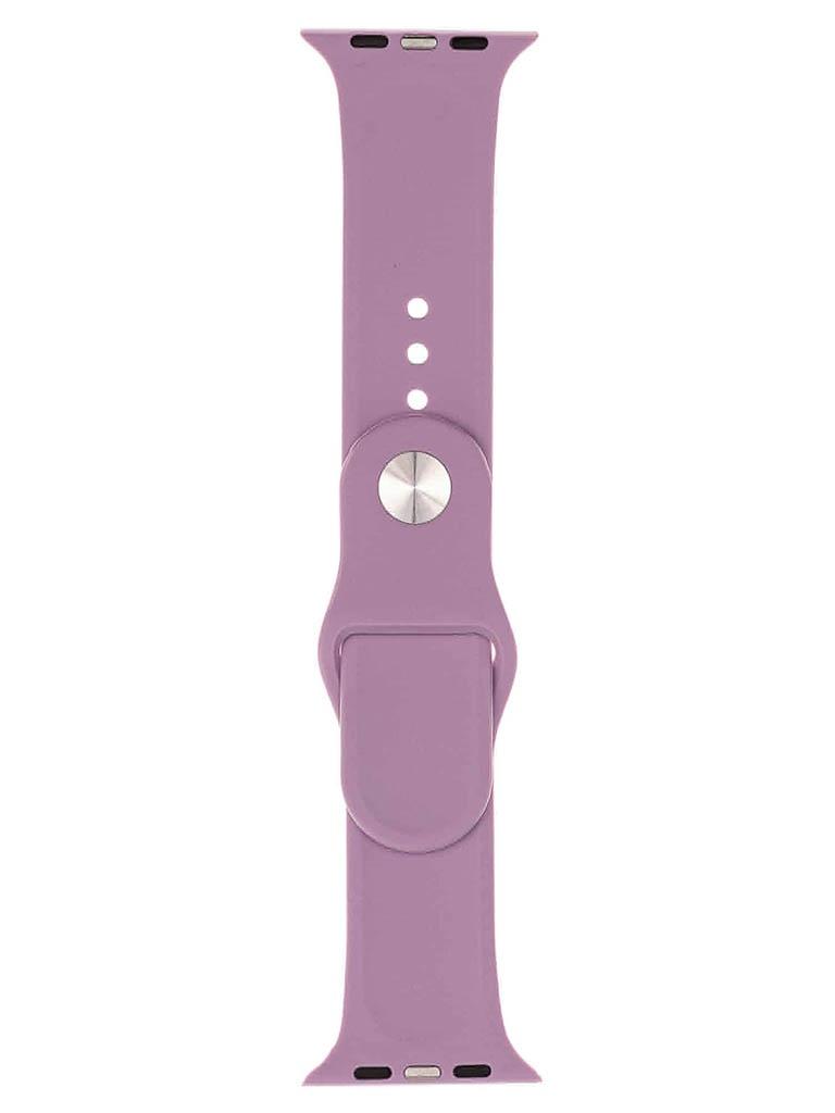 Аксессуар Ремешок Evolution для Apple Watch 42/44mm Sport Silicone Lavender AW44-S01